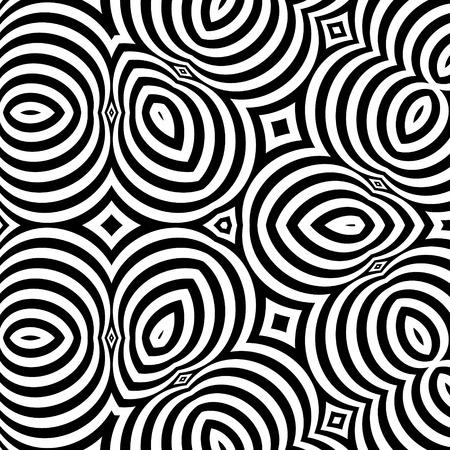 Negro y blanco de fondo. Vectores