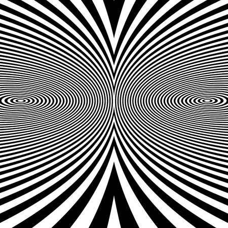 optical: Pattern With Optical Illusion. Abstract Background. Optical Art. 3d Vector Illustration.
