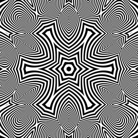 microprint: Abstract Striped Background. Illustration