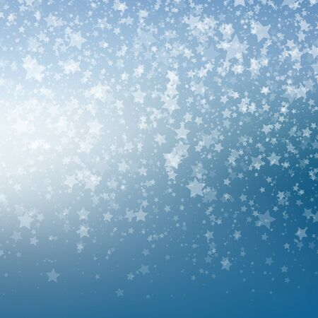 neige qui tombe: Falling Snow Background. Abstract Snowflake Pattern. Vector Illustration.