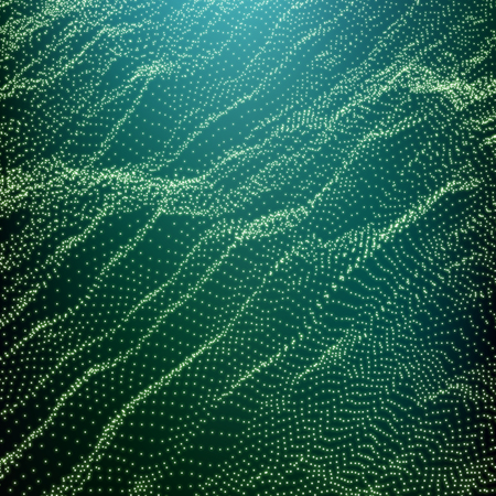 undulated: Wave Grid Background. Ripple Grid. Lattice Background. Abstract Vector Illustration. Cyberspace Grid. 3D Technology Style. Glowing Grid. Wireframe illustration with Dots. Network Design with Particle
