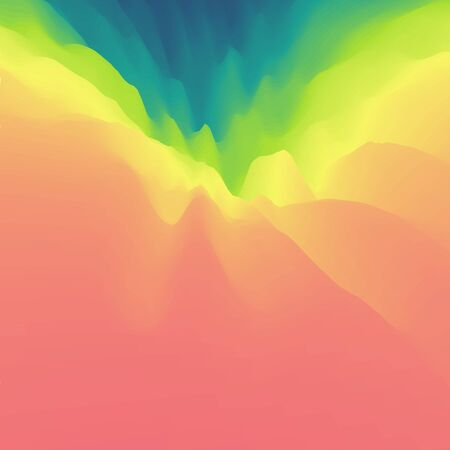 polychromatic: Colorful Abstract Background.