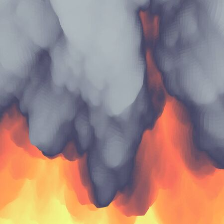 flamy: Lava. Abstract background.