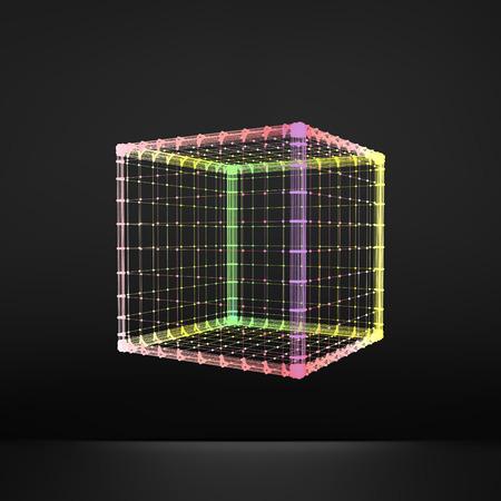 connection block: Cube Molecular lattice.