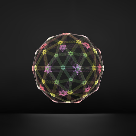 media network: The Sphere Consisting of Points. Illustration