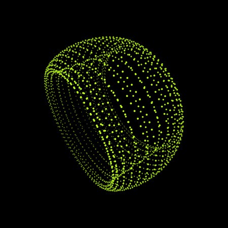 grid: Torus. The Torus Consisting of Points. Connection Structure. Torus Shape  Wireframe. 3D Grid Design. A Glowing Grid. 3D Technology Style. Network Design. Molecular lattice. Cyberspace Grid.