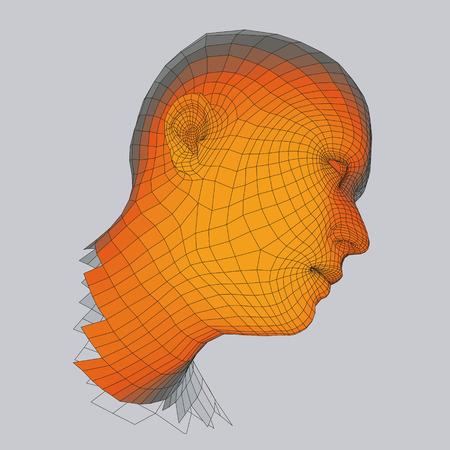 Erfreut Kopf Drahtmodell Fotos - Elektrische ...