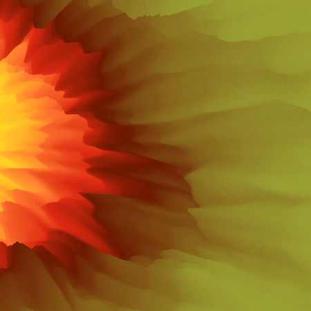 flamy: Burst, Fire and Explosion. Abstract background. Modern pattern. Vector Illustration For Your Design.