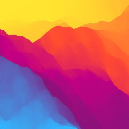 paleta de pintor: Resumen de colores de fondo. Plantilla de diseño. Modelo moderno. Ilustración vectorial para su diseño. Se puede utilizar para la bandera, aviador, de libro, carteles, web banners.