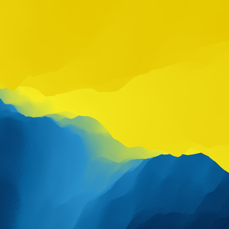 dawning: Mountain Landscape. Mountainous Terrain. Mountain Design. Vector Silhouettes Of Mountains Backgrounds. Sunset. Can Be Used For Banner, Flyer, Book Cover, Poster, Web Banners.