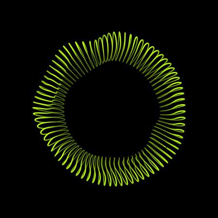 forme geometrique: Objet Wireframe avec des points. Structure de connexion 3D abstraite. Forme géométrique pour la conception. Elément géométrique en treillis, emblème et icône. Grille de connexion. Grille moléculaire. Style de technologie 3D avec particule
