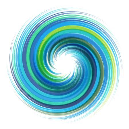 twist: Dynamic Flow Illustration. Swirl Background. Illustration