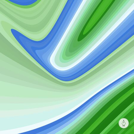sinuous: Abstract background. Vector illustration. Can be used for wallpaper, web page background, web banners.