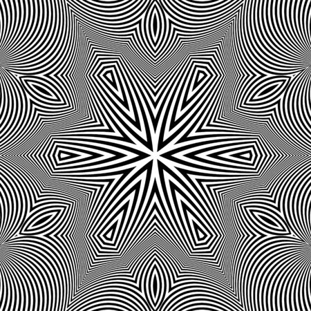 microprint: Black and White Background.