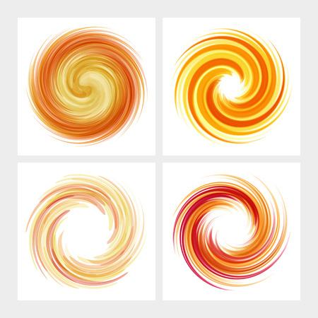 curl whirlpool: Dynamic Flow Illustration. Swirl Background. Illustration