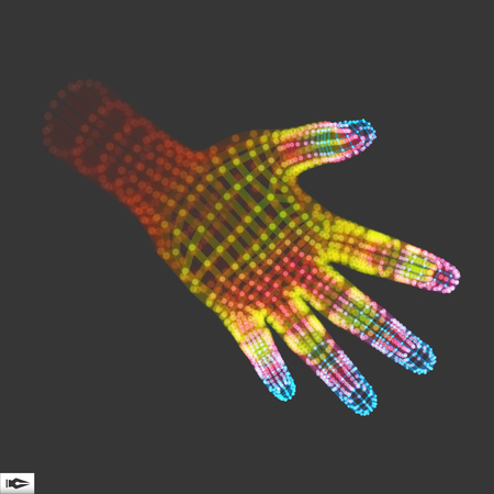 robot hand: Human Arm. Human Hand Model. Hand Scanning. 3d Covering Skin