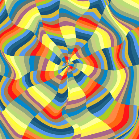 distort: Abstract Background. Mosaic. Psychedelic Composition for Design. Polygonal Vector illustration.