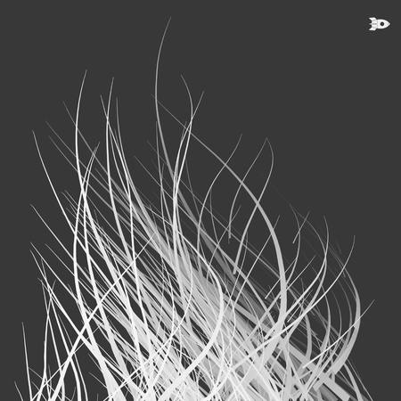 optical fiber: Optical Fiber. Vector Illustration. 3D Abstract Background. Illustration