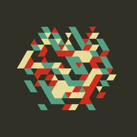 Abstract Vector Illustration. Can Be Used For Design And Presentation. Illustration