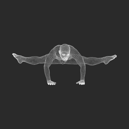 acrobat gymnast: Hand standing pose. Man doing yoga exercises - handstand. Healthy lifestyle. Body stretching. Man practicing yoga.