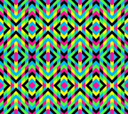 Seamless mosaic pattern. Geometric background. Vector Illustration. Collection for design.