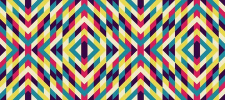 mixed wallpaper: Seamless mosaic pattern. Geometric background. Vector Illustration. Collection for design.