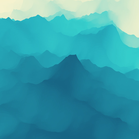 Water Surface. Nature background. Modern pattern. Vector Illustration For Your Design. Çizim