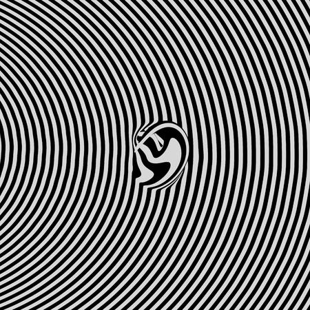 billowy: Glitch abstract background