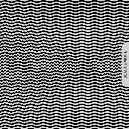 billowy: Optical illusion Illustration