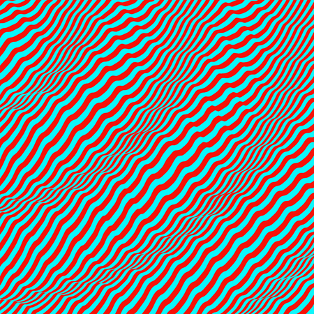 billowy: 3D wavy background. Dynamic effect. Pattern with optical illusion. Vector illustration. Illustration