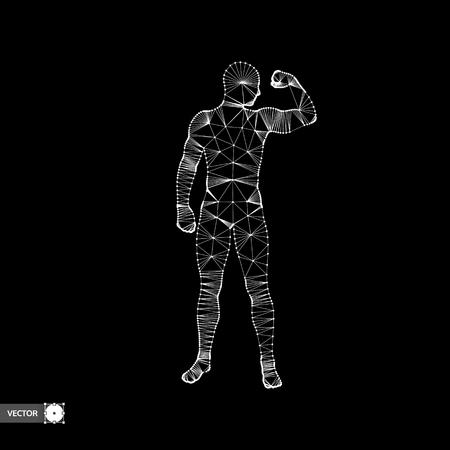 for men: Strong men. Sport symbol. Vector ilustration for design. Illustration