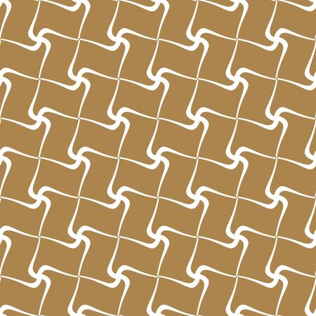 Simple geometric seamless background for textile printing, packaging, wrapper, etc. Illustration