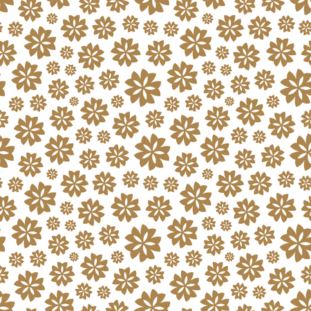 clutter: Seamless background with flowers. Flower theme. Elegant template for fashion prints. Vector illustration.