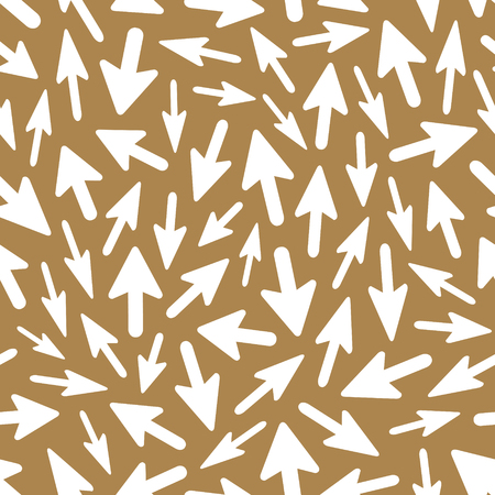 seamless: Arrows. Seamless pattern. Vector illustration.