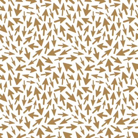 Arrows. Seamless pattern. Vector illustration.