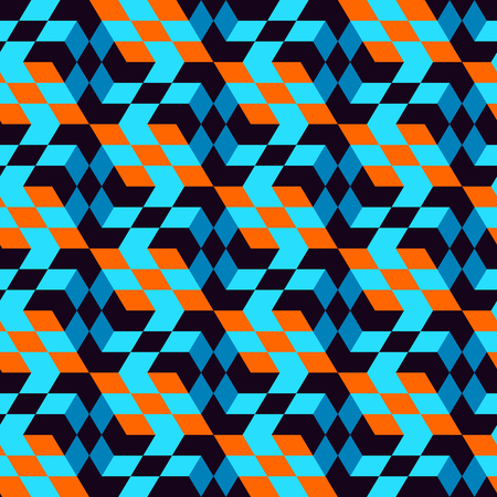 endlos: Seamless mosaic pattern. Geometric background. Vector Illustration.