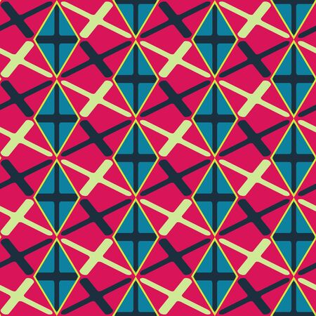 Seamless mosaic pattern. Stock Vector - 87967926