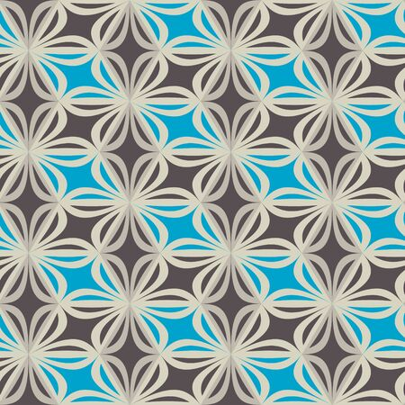 a seamless mosaic pattern. Geometric background. Vector Illustration. Illustration