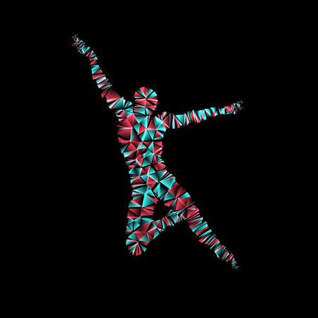 Ginasta. Modelo 3d de homem. Modelo do corpo humano. Atividades de ginástica para saúde icon e fitness. Foto de archivo - 90253070