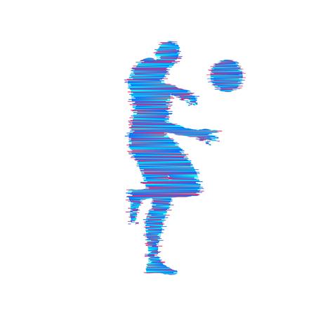 Jogador de basquete com bola. Símbolo do esporte. Ilustração vetorial
