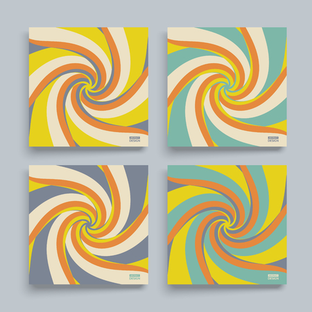 Abstract swirl background. Cover design template. Vector illustration. Illustration