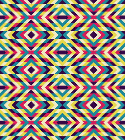 Mosaic pattern. Abstract background for design. Geometric vector illustration.
