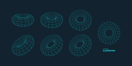 Circular outline image design illustration