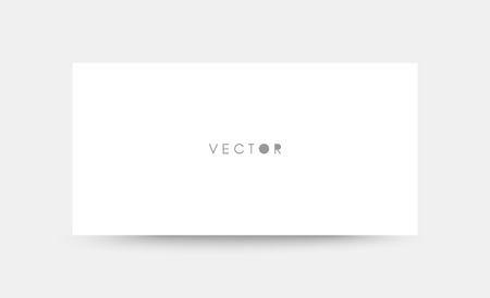 Mockup of a landscape-oriented magazine or catalogue. Blank sheet of paper. Element for advertising and promotional message. 3d vector illustration for your design.