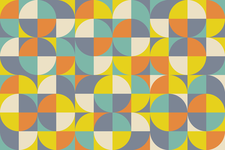 Abstract colorful geometric design. Vector illustration. Pattern can be used as a template for brochure, annual report, magazine, poster, presentation, flyer and banner.