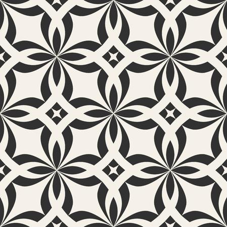 シームレスな幾何学的背景。抽象ベクトルイラストレーション。シンプルなグラフィックデザイン。テキスタイル印刷、包装、ラッパー等のパターン