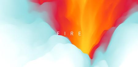 Lava. Abstract background. Modern pattern. Vector illustration for design. Ilustrace