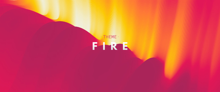 Burning fire flames. Abstract background. Modern pattern. Vector illustration for design.