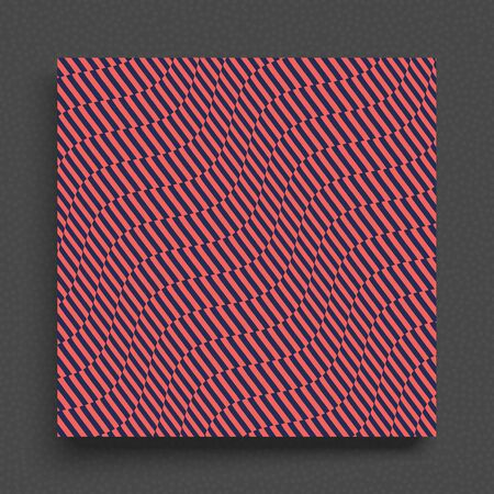 Abstract background with wavy lines. Cover design template. Dynamic effect. Vector illustration for banner, flyer and poster.