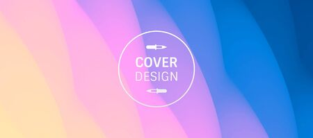 Abstract background with dynamic effect. Modern pattern. Vector illustration for design. Illustration